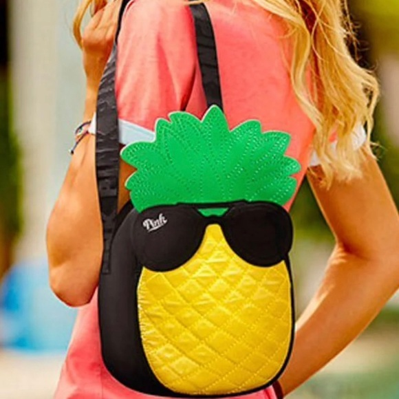 Pineapple Cooler Tote Lunch Bag